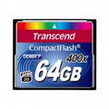 TRANSCEND Compact Flash 64GB 400x High-Capacity Memory Card - TS64GCF400