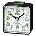CASIO TQ140 Travel Alarm Clock - Black - TQ-140-1B