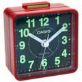 CASIO TQ140 Travel Alarm Clock - Red - TQ140-4