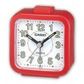 CASIO TQ141 Alarm Clock - Red - TQ-141-4EF