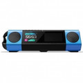 PIONEER STEEZ SOLO 4GB Portable Music System with Headphones BlackBlue - STZ-D10S-L