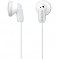 SONY White Earbud Headphones - MDRE9LP/WHI