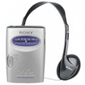 SONY SRF59SILVER AM/FM Walkman Stereo Radio - SRF59