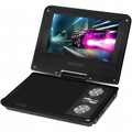 IMPECCA 7 Inch Swivel Portable DVD Player Black - DVP775K