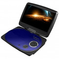 IMPECCA 9 Inch Swivel Portable DVD Player Blue - DVP916B