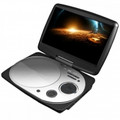 IMPECCA 9 Inch Swivel Portable DVD Player White - DVP916W