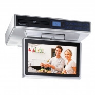 VENTURER 10 Inch Under-Cabinet Kitchen LCD TVDVD Combo AM/FM w/ Remote - KLV39103C