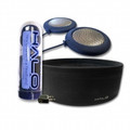 HALO Travel Series Dark Blue Speakers plus Black Headband - HALOT