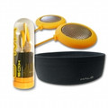 HALO Headphones Kids Yellow Speakers plus Black Headband - HALOK