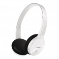 PHILIPS Bluetooth On-ear Stereo Headset - White - SHB4000WT/28