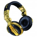 PIONEER Limited Professional DJ Headphones - Gold - HDJ1000G
