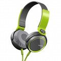 SONY XB Series Extra Bass Stereo Headphones - Green - MDR-XB400/GQ