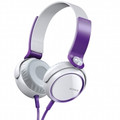 SONY XB Series Extra Bass Stereo Headphones - Violet - MDR-XB400/VQ