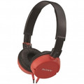 SONY Stereo Over-the-Head Headphones Red - MDR-ZX100/RED