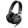 SONY Premium Over The Head Headphone Black - MDR-1R