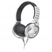 SONY X-Series Over-the-Ear Headphones with Mic and Remote - BlackSilver - MDR-X05/SIC