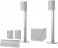 JAMO Home Cinema System with 4 A340 Satellites1 SUB300 1 A3 CEN4 Speaker - A340HCS7WHT