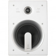 JAMO 60W 2-Way In-Wall Speakers White Paintable (Pair) - IW606-FG