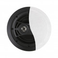 JAMO 2x50W 2 Way In Ceiling Speaker with Flat White Paintable Grille - I/O6.52DVCA2-FG