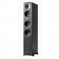 JAMO 150W Front Floorstanding Tower Speaker Black Ash - C607BLK