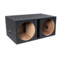 ATREND Atrand Dual 10-Inch B Box Series Subwoofer Dual Vented Enclosure w Shared Chamber - E10DSV