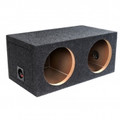 ATREND Atrend B Box Pro Series 10 Inch Dual Subwoofer Single Sealed Enclosure - E10D