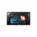 PIONEER 2-DIN Multimedia DVD Receiver with 6.1 Inch Touchscreen Display MIXTRAX Bluetooth HD Radio Tuner SiriusXM Ready and AppRadio Mode for iPhone - AVH-X3500BHS