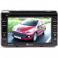 XO VISION XO-Vision Double DIN 7-Inch Touch Screen Receiver with Built-in GPS Navigation - XOD1764NAV