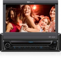 XO VISION XO-Vision 7 Inch Touch Screen DVD Receiver with Built-in Bluetooth - X341BT