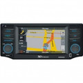 XO VISION XO-Vision 4.3 Inch Touchscreen DVD Receiver with Navigation and Bluetooth - X450NAV