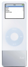 ILUV 37hr. Maximum iPod Nano Battery and Skin White - I601WHT