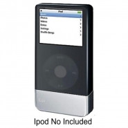ILUV Battery Booster with Silicone Case for iPod Classic Black - I604-BLK