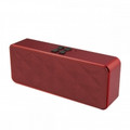 IMPECCA Portable Hi-Fi Stereo Bluetooth Speaker, Maroon - AS620BTM