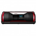 PIONEER STEEZ CREW 4GB Portable Music System with Headphones BlackRed - STZ-D10Z-R