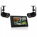 UNIDEN Digital Wireless Video Surveillance System with 7-IN Color Monitor and 2 OutdoorIndoor Cameras - UDS655