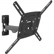 BARKAN 3 Movement - Rotate Swivel & Tilt Wall Mount Fits LED LCD Plasmas up to 56-Inches - E330