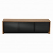 BDI Casata Low Triple-wide Cabinet Walnut - 8627WALNUT