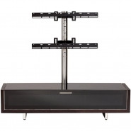 BDI Odeon Low Profile Cabinet and Mount for 37-55-Inch Flat Panel TVs Espresso Stained Oak - 9940ESP