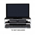 BDI VEXA Wide 3-Shelf TV Stand fits up to 62-inch TVs Silver - 9239SL