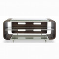BDI Cielo Double-Wide 3 Shelf TV Stand Espresso - 9324ESP