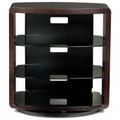 BDI Valera Single-Wide Tall 4 Shelf Swiveling TV Stand Espresso Stained Oak - 9721ESP