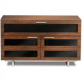BDI Avion Series II Double Wide Cabinet Chocolate Stained Walnut finish - 8928-CHOCOLATE