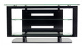 BDI ICON 3 Shelf Flat Panel TV Stand Black - 9424BK