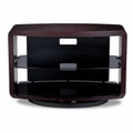 BDI VEXA 3-Shelf TV Stand Fits up to 50-inch TVs Black - 9234BK