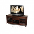 Tech Craft 62-Inch Wide AV Credenza Walnut - NCL62