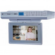VENTURER 9-inch Kitchen LCD TVDVD Combo Mounts Under Cabinet - KLV39092