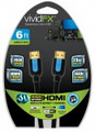 XTREME 6ft Vivid FX High Speed V1.4 HDMI Cable - 44106