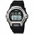CASIO Ladies Standard Digital 50-Meter Water Resistant Watch -Black - LW-202H-1AV
