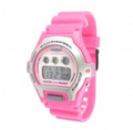 CASIO Ladies Standard Digital 50-Meter Water Resistant Watch -Pink - LW-202H-4AV
