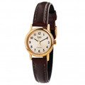 CASIO 3-Hand Analog Quartz Ladies Watch with Genuine Leather Band - LTP1095Q-9B1